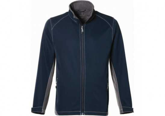 Elevate Iberico Mens Softshell Jacket - Navy