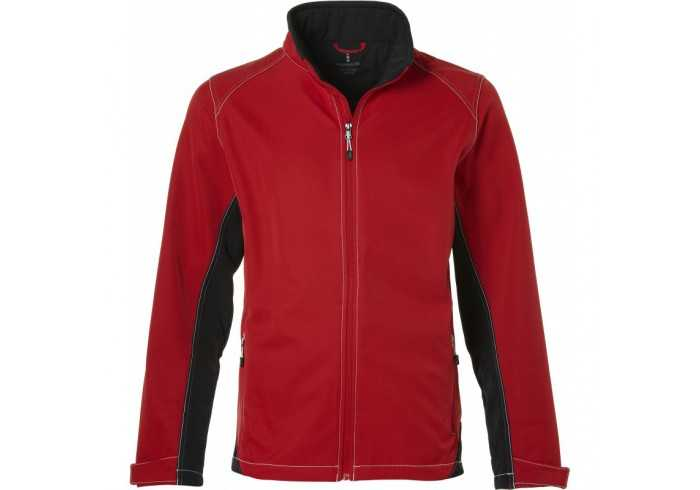 Elevate Iberico Mens Softshell Jacket - Red