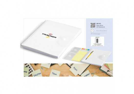 Nota Bene A5 Notebook - White
