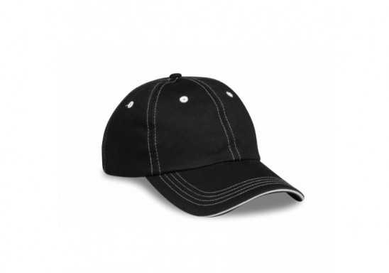 Elevate Ignite 6 Panel Cap - Black