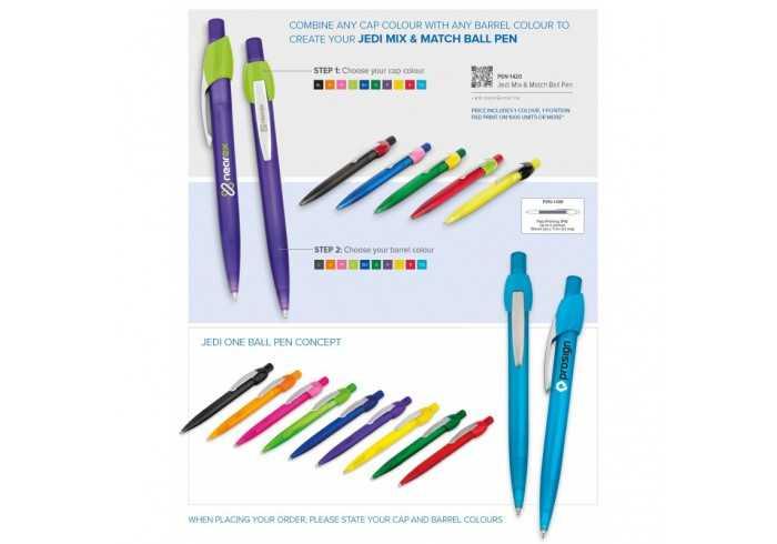 Jedi Mix & Match Pen - Charcoal
