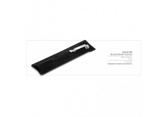 Black-Velvet Pouch (Excludes Pen)