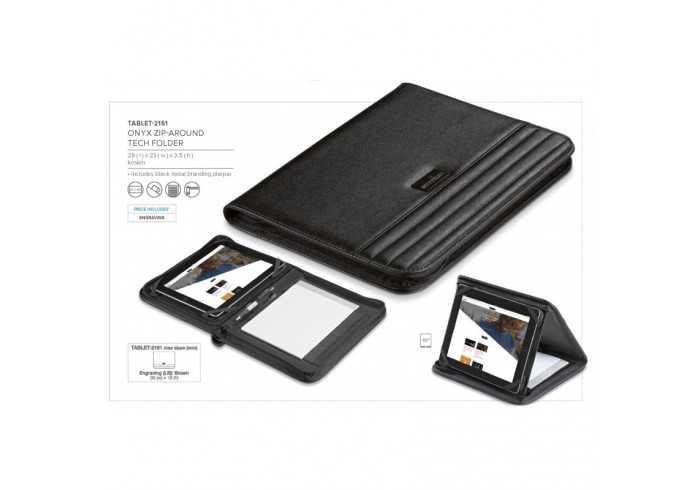 Onyx Zip-Around Tablet Holder & Stand