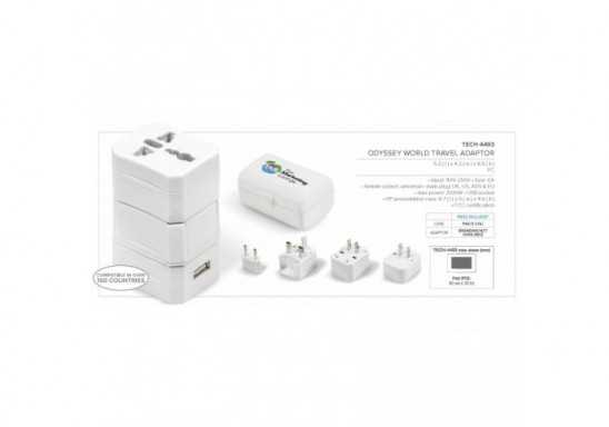 Odyssey World Travel Adaptor
