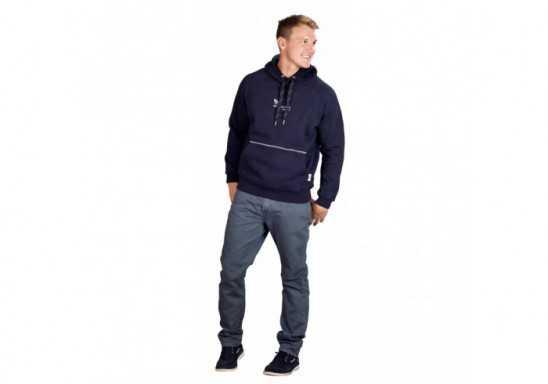 Slazenger Smash Mens Hooded Sweater - Black