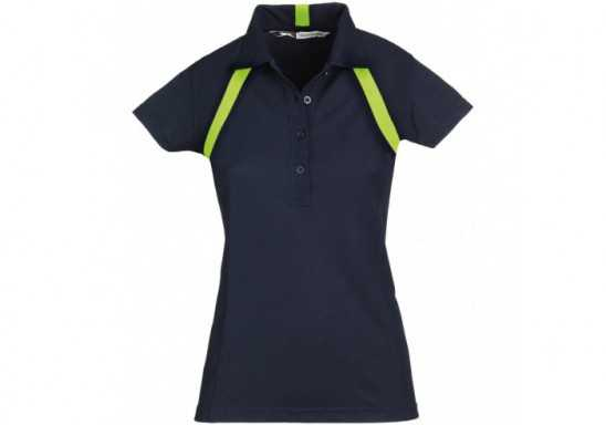 Slazenger Jebel Ladies Golf Shirt - Black