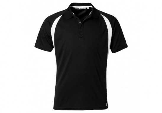 Slazenger Apex Mens Golf Shirt - Black
