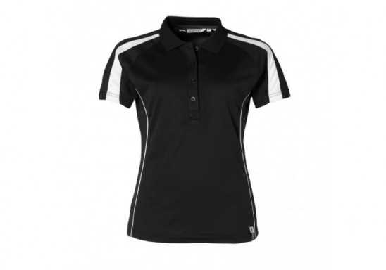 Slazenger Horizon Ladies Golf Shirt - Black