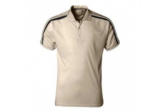 Slazenger Trinity Mens Golf Shirt - Khaki
