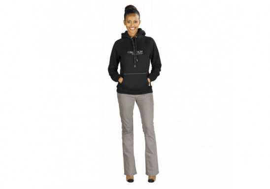 Slazenger Smash Ladies Hooded Sweater - Black