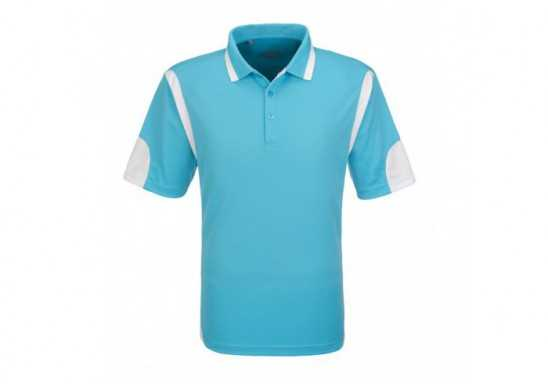 Slazenger Genesis Mens Golf Shirt - Aqua
