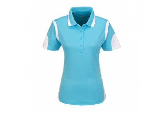 Slazenger Genesis Ladies Golf Shirt - Aqua