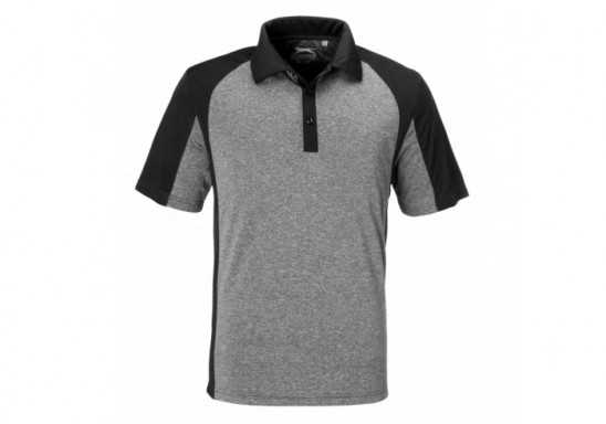 Slazenger Mens Matrix Golf Shirt - Black