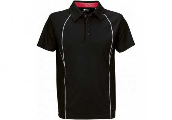 Slazenger Victory Mens Golf Shirt - Black