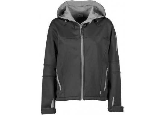 Slazenger Catalyst Ladies Softshell Jacket - Black