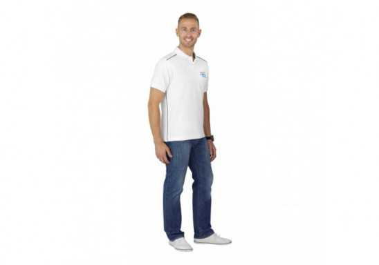 Slazenger Backhand Mens Golf Shirt