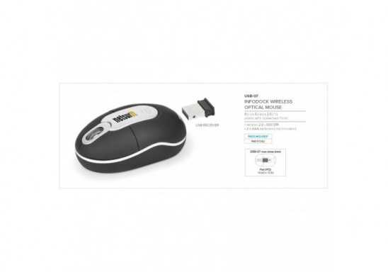 Infodock Optical Wireless Mouse