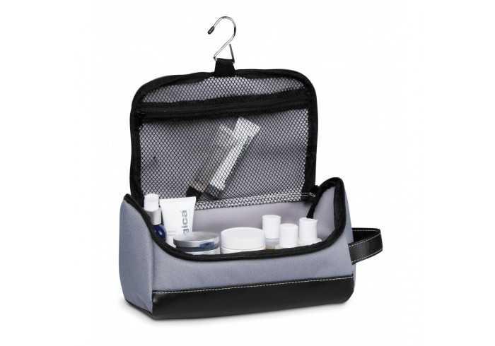 Graphite Toiletry Bag