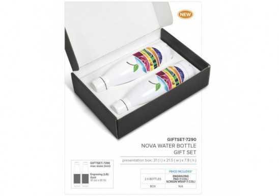 Nova Water Bottle Gift Set