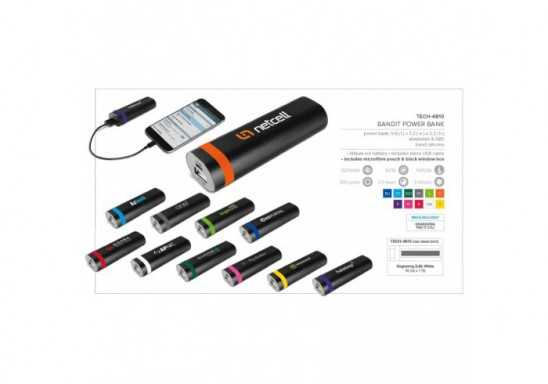 Bandit Power Bank - 2200mAh
