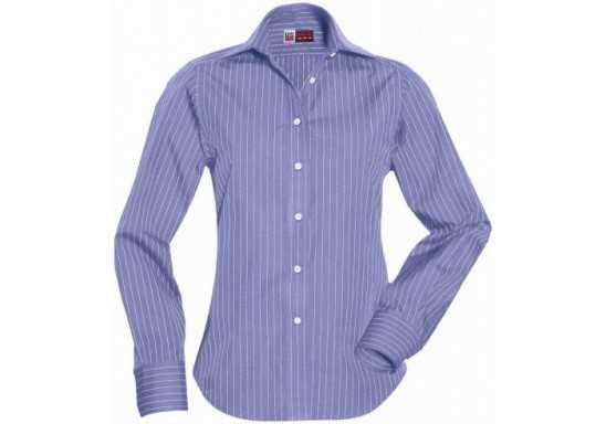 US Basic Pittsburgh Ladies Striped Long Sleeve Shirt