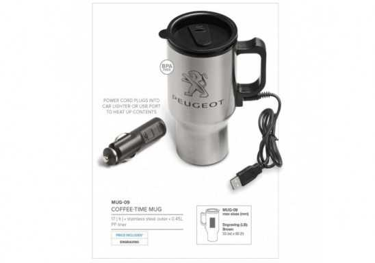 Coffee-Time Double Wall Mug- 450Ml