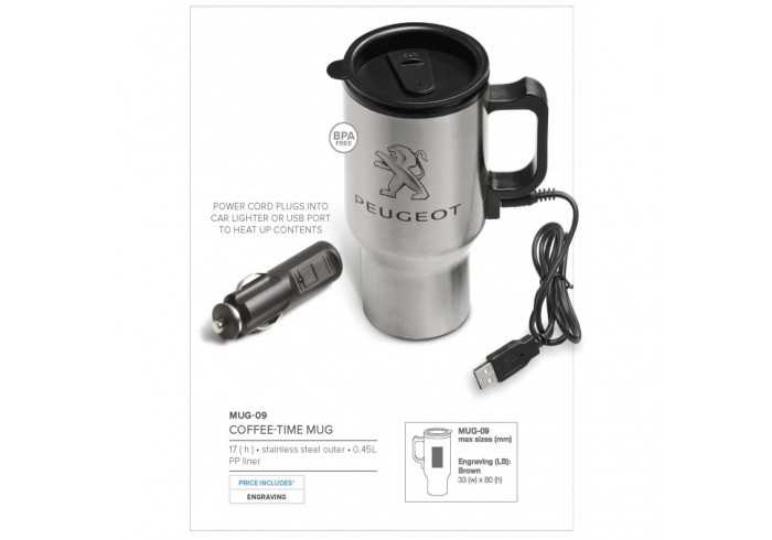 Coffee-Time Double Wall Mug- 450Ml