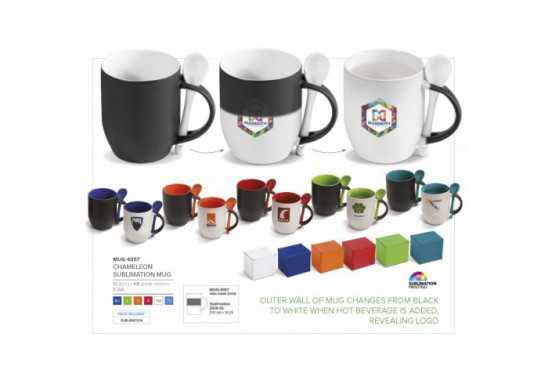 Chameleon Colour-Changing Mug - 325ml