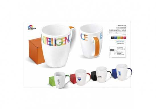 Crescent Sublimation Mug - 325Ml