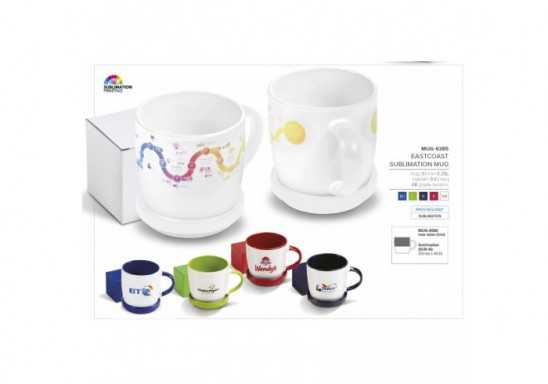 Eastcoast Sublimation Mug - 350Ml