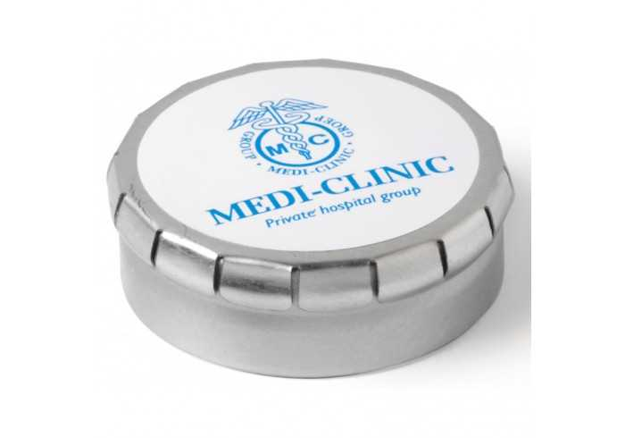 Clic-Clac Tin With Sugar-Free Mints - Blue