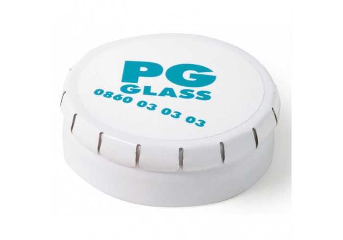 Clic-Clac Tin With Sugar-Free Mints - Silver