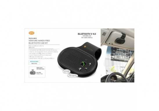 Venture Hands-Free Bluetooth Car Kit