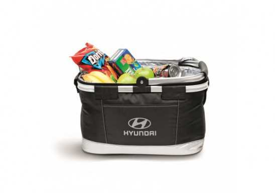 Hampton Basket Cooler - Black