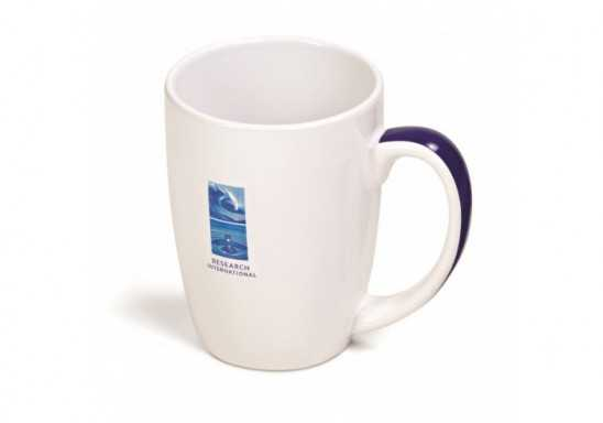 Crescent Sublimation Mug - 325Ml - Black