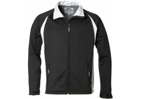 Slazenger Apex Mens Softshell Jacket - Black