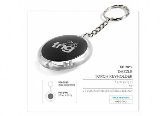 Dazzle Torch Keyholder