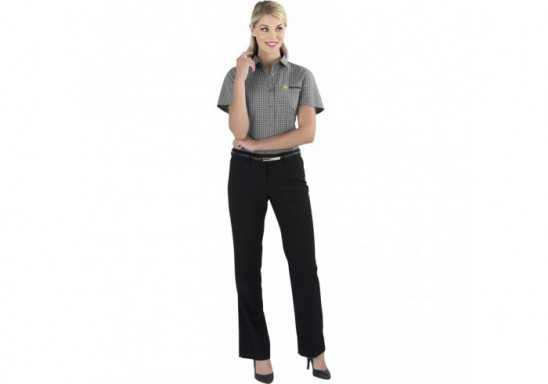 US Basic Aston Ladies Short Sleeve Shirt