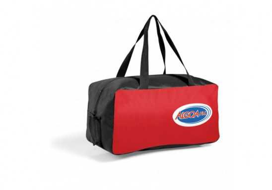Montreal Sports Bag - Red