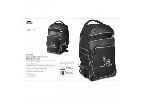 Slazenger Competition Tech Backpack