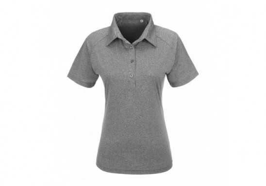 Slazenger Triumph Ladies Golf Shirt - Grey