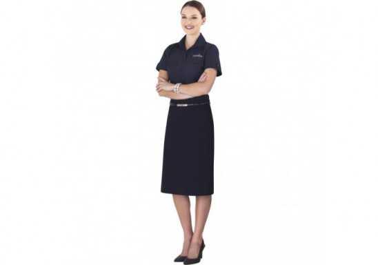 US Basic Ladies Short Sleeve Kensington Shirt