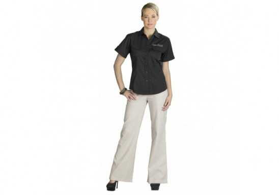 US Basic Safari Ladies Short Sleeve Shirt