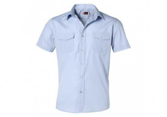 US Basic Bayport Mens Short Sleeve Shirt