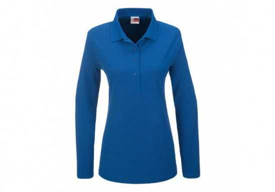 US Basic Boston Ladies Long Sleeve Golf Shirt
