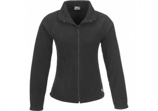Slazenger Storm Ladies Micro Fleece Jacket - Black