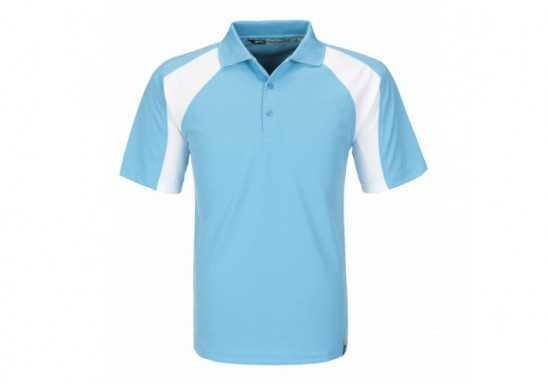 Slazenger Mens Grandslam Golf Shirt - Aqua