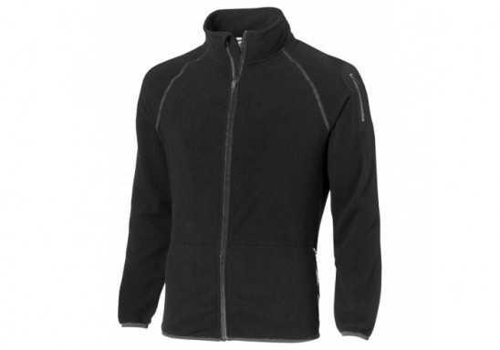 Slazenger Ignition Mens Micro Fleece Jacket - Black