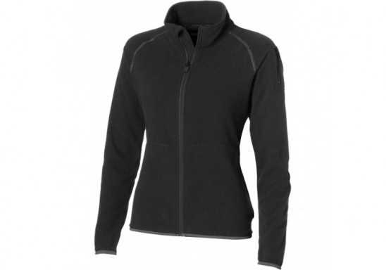 Slazenger Ignition Ladies Micro Fleece Jacket - Black