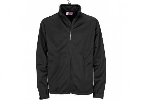 US Basic Cromwell Mens Softshell Jacket - Black